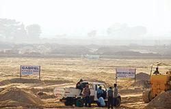 The site for the Tata Motors plant in Singur