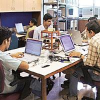Helping hand: The Sine business incubator at IIT Bombay provides support for technology-based entrepreneurship.