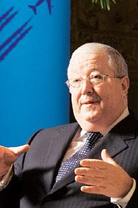 Thinking long term: John P. Connolly, global chairman, Deloitte. (Photo: Madhu Kapparath/ Mint)