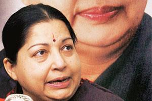 Late reaction: Former Tamil Nadu chief minister J.Jayalalithaa.