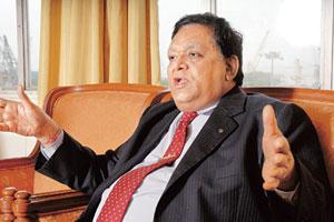Going strong: L&T chairman and managing director A.M.Naik. (Photo: Ashesh Shah/ Mint)