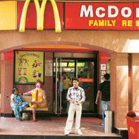 Expansion spree: A Mc Donald's outlet in Saket, New Delhi. (Photo: Madhu Kapparath/Mint)