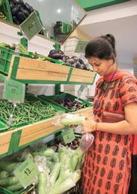 Farm fresh: The Confederation of Indian Horticulture plans a one-stop shop for all products, like this retail outlet by ITC, and along the lines of those found in parts of Europe and the US. (Photo: H
