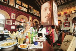 Chill-out zone: Hard Rock Cafe lives up to its reputation