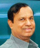 Troubled waters: The problem in this issue is to decide between faith and science, shipping minister T.R. Baalu says. (PIB)