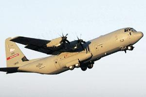 High-flyer: A C-130J Hercules aircraft. India will buy six of these aircraft from the US in a $1 billion deal.
