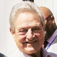 Transparency call: Billionaire financier George Soros.