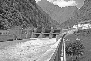 Power flow:Vishnu Prayag hydroelectric power project in Uttarakhand. Satluj Jal Vidyut Nigam Ltd runs the largest hydroelectric power project in India and is eyeing opportunities in Nepal and Bhutan t