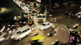 Alison Brown finds the traffic crazy. (Hemant Mishra / Mint)