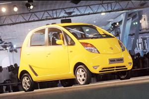 Huge opportunity: At current interest rates, a Tata Nano buyer will have to pay Rs3,000 per month for a five-year loan, twice the amount a two-wheeler buyer will pay for a three-year loan for a bike c