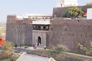 The Jadhavgad Fort