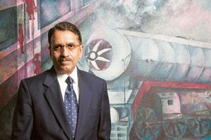 R. Sivadasan is a former railway finance commissioner (Photo: Harikrishna Katragadda/Mint)