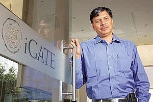 Moving up: Phaneesh Murthy has been named the new chief executive of iGate Corp. (Photo: Hemant Mishra/ Mint)