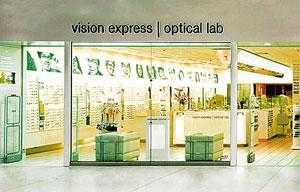 In sight: The stores may use the Vision Express brand, popular in the UK.
