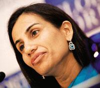 Dissecting losses: Chanda Kochhar, ICICI Bank joint MD and CFO. (Bloomberg)