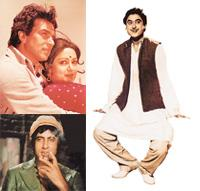 That '70s show: (clockwise from left) Bachchan owned cinema; Hema and Dharam paired to create history; Kishore Kumar sang his way to immortality.
