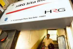 On the block: The HRG Sita office in New Delhi. Kuoni is evaluating the bids that four companies have placed for its business travel division. (Harikrishna Katragadda / Mint)