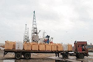 Free to charge: A truck moves cargo at the Mumbai port. Ennore Port near Chennai is not under the purview of Tariff Authority for Major Ports, tariff regulator for the 11 major ports owned by the Unio