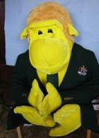 Yellow Monkey: Blnguyen, who uses this toy as his avatar, edits Wiki entries for several Indian cricketers.
