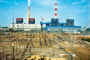 Capital influx: An NTPC plant in Rihand, Uttar Pradesh. The firm is among the three agencies through which the initial investments from West Asia were targeted to be channelled into the power sector.
