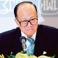 Dour relations: Hong Kong billionaire Li Ka-shing, who has a stake in Westports Holdings, sold his Hutchison Essar holding last year, saying he didn't want to do business in a country where he was not
