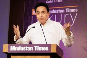 Open arms: Commerce minister Kamal Nath at the Mint Hindustan Times Luxury Conference.
