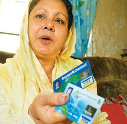 Gazala Aza was denied a credit card because she lives in a 'negative zone'