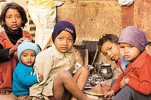 Reality check: A study by Educational Resource Unit says it is wrong to blame poverty for malnutrition, which is also prevalent among the relatively better-off sections of Indian society. (Photo: Rame