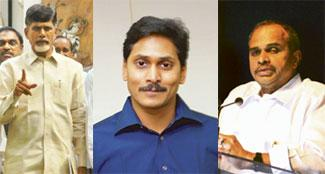 TDP chief Chandrababu Naidu has alleged that Jagan Mohan Reddy, son of Andhra Pradesh chief minister Y.S.R. Reddy raised money for his newspaper Sakshi from business houses, which in turn, were provid