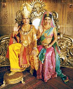 A blessing for TV : Ramayan has catapulted NDTV Imagine to the third position in prime time.