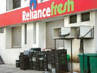 Growing problem: A file photo of garbage outside a Reliance Fresh store in Pune. (Sudha Menon/Mint)