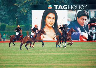 Artful marketing: Like other luxury watch brands, TAG Heuer has tapped into polo—considered a heritage sport in India