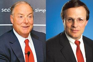 Tech take: Accenture CEO William Green and IBM CFO Mark Loughridge see no shortage of opportunities.