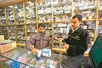 Bitter taste: A chemist shop in New Delhi. The drug controller has proposed a new plan to avoid ticklish cases where a generics firm gets the marketing go-ahead for a drug patented by another company.