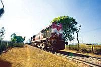 Forging ahead: If a state were to identify the lack of a railway line as an impediment to industrial development in a particular district, the Centre would direct the ministry of railways to tackle th