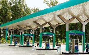 Greener pastures? A Reliance petrol pump in Punjab. The firm recently closed down 1,432 fuel stations because it has not been able to compete with state-owned firms that sell petrol and diesel at subs