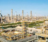 Infrastructure boost: A file picture of Reliance Industries' Jamnagar refinery in Gujarat. The state is planning an airline to enhance connectivity between its industrial towns and cities.