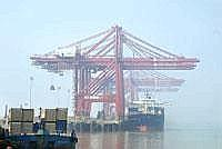 Testing waters: A view of the Jawaharlal Nehru Port. The relaxation in manning requirements will apply to the so-called deck-side of Indian registered bulk carriers and not to the engineering side. Ph