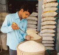 The study suggests that Indian rice varieties have more inorganic arsenic content while American rice has more of the organic variant, which is less harmful to human beings (Photo by: AFP)