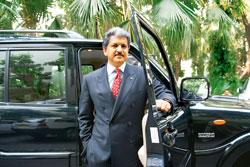 M&M's vice-chairman  and managing director Anand Mahindra. The company reported a 6.4% decline in net profit to Rs221 crore for the quarter ended March, citing higher input costs (Photo by: Madhu