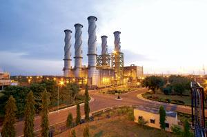 Underpowered: An NTPC plant at Gandhar in Gujarat. All NTPC plants in the country are grappling with fuel shortage.