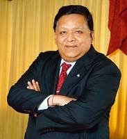 Great expectations: Larsen and Toubro chairman A.M. Naik expects a growth of 30-35% for the company in fiscal 2009. (Ashesh Shah / Mint)