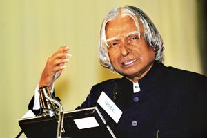 Missile man: Nair doesn't fully explain Kalam's second-term ambitions. (Photo: Amit Bhargava / Bloomberg)