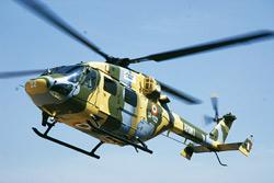 New entrant: A file photo of the new version of the Dhruv helicopter during its flight at Hindustan Aeronautics Ltd base in Bangalore. (Photo: Hemant Mishra/Mint)
