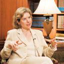 Seeking progress: A file photo of US trade representative Susan Schwab
