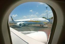 Jet Airways is considering taking over profitable routes from JetLite, its low-cost airlines (Photo by: Rajesh Nirguide / AP)