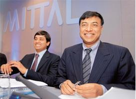 Deal maker: Mittal's business decisions get little scrutiny in the book; it has more anecdotes than analysis.