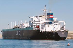 Increasing imports: A tanker carrying natural gas. The gas utilization policy will prioritize the use of natural gas, a key raw material for the fertilizer industry, for existing fertilizer and power