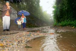 Water shortages and potholed roads are common features in Darjeeling (Photo by: Indranil Bhoumik/ Mint)
