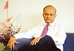 Exploring different options: P.J. Nayak, Axis Bank's chairman and managing director. There are about 35 players in the asset management segment in India, managing more than Rs6 trillion (Photo by: Ash